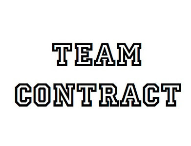 Team Contract Text Button -S